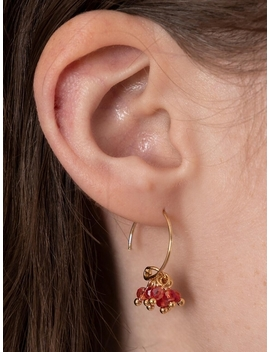 Berry Hoop Earring by Arco