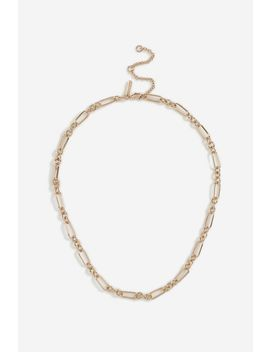 **Linked Chain Necklace by Topshop