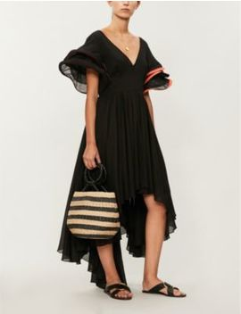Multi Flare Cotton Voile Dress by Pitusa