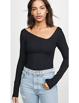 Abbie Thong Bodysuit by Free People