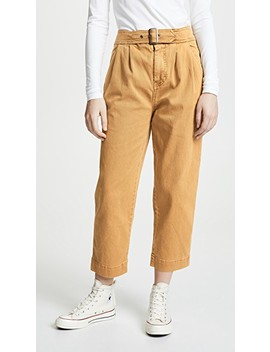 Seamed Like The Real Thing Pants by Free People