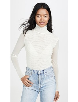 Double Layer Mesh Turtleneck by Free People
