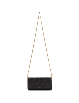 Black Gv3 Chain Wallet Bag by Givenchy