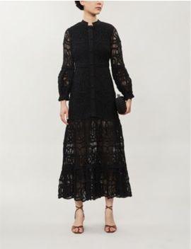 Eudora Cotton Lace Maxi Dress by Alexis