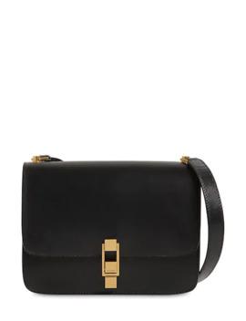 CarrÉ Leather Shoulder Bag by Saint Laurent