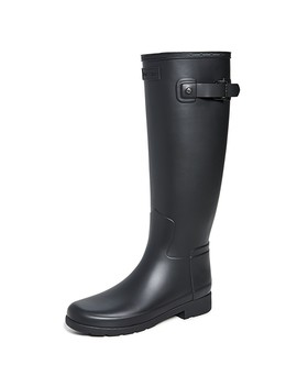 Refined Tall Matte Boots by Hunter Boots