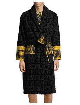 Versace Mens Barocco Sleeve Robe by Versace