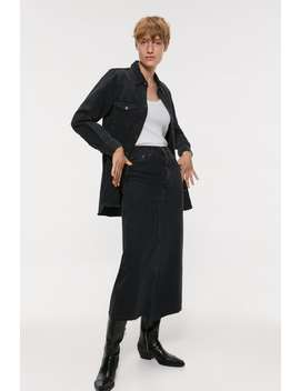 Denim Midi Skirt New Inwoman by Zara