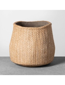 Planter Woven Cement   Hearth &Amp; Hand With Magnolia by Hearth & Hand With Magnolia