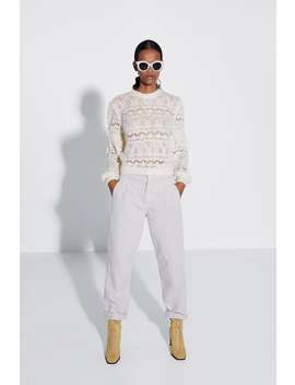 Open Knit Sweaternew In Woman by Zara