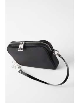 Nylon Baguette Bag View All Bags Woman by Zara
