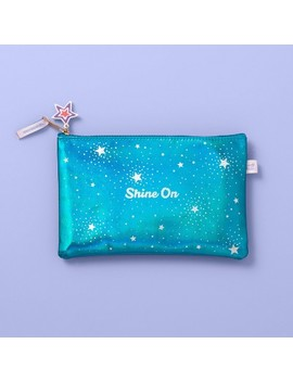 Iridescent Shine On Pencil Pouch   More Than Magic by More Than Magic