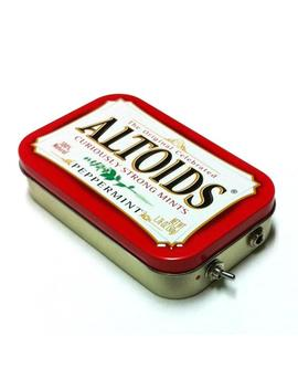 Portable Amp And Speaker For I Phone Mp3 Player  Altoids Red/Red Handmade Altoids Phone Amplifier Free Shipping by Etsy