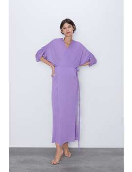 Crossed Dress Momwoman Cornershops by Zara