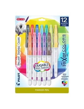 Pilot® Fri Xion® Erasable Marker Pens, 12ct   Multicolor by Multicolor