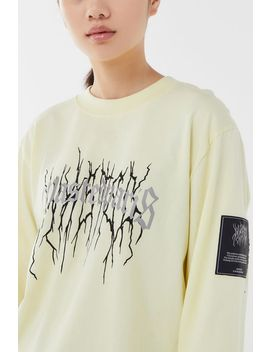 Wasted Paris Reflective Logo Long Sleeve Tee by Wasted Paris