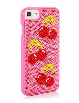 Cherry Bead Case by Skinny Dip