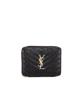 Medium Zip Around Wallet by Saint Laurent