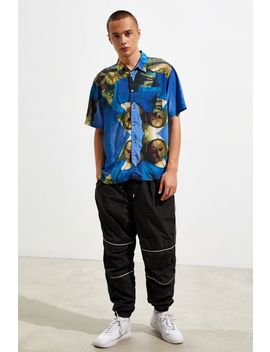 Uo Dutch Master Rayon Short Sleeve Button Down Shirt by Urban Outfitters