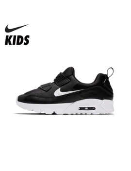 Nike Air Max Tiny 90 Kids Shoes New Arrival Breathable Sports Children's Running Shoes Comfortable Sneakers #881927 007 by Ali Express.Com