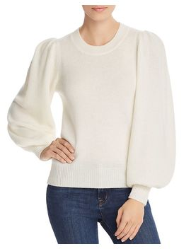 Puff Sleeve Cashmere Sweater   100% Exclusive by Aqua Cashmere