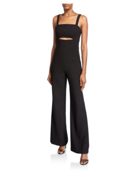 Paige Sleeveless Cutout Jumpsuit by Likely