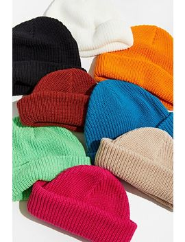 Uo Ribbed Beanie by Urban Outfitters