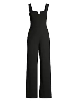 Sleeveless Front Vent Jumpsuit by Bcbgmaxazria