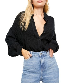 Blouson Sleeve Button Up Shirt by Free People