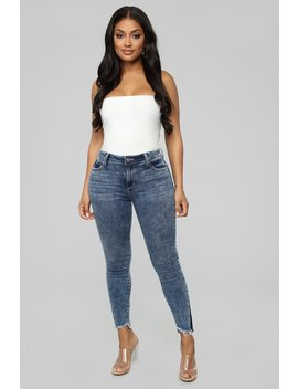 That's Not Who You Are Ankle Jeans   Acid Wash by Fashion Nova