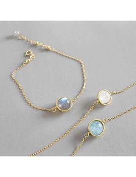 phoenoa---925-sterling-silver-moonstone-bracelet by phoenoa