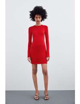 Fitted Dress Starting From 60% Offsale Woman by Zara
