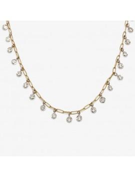 Ila Diamond Ephemeral Necklace by Abc Home