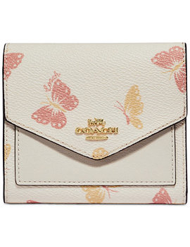 Butterfly Print Small Wallet by General