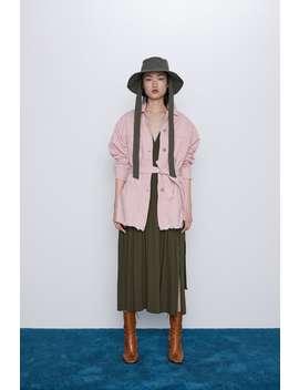 Belted Jacket Jacketswoman by Zara