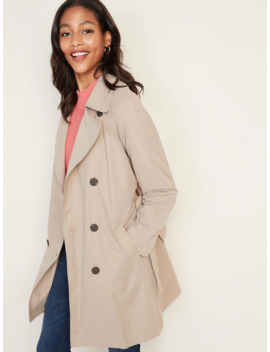 Water Resistant Trench Coat For Women by Old Navy