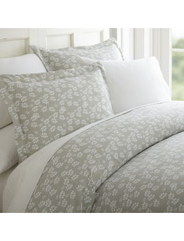 Casual Comfort™ Premium Ultra Soft Wheatfield Pattern Wrinkle Resistant Duvet Cover Set by Asstd National Brand