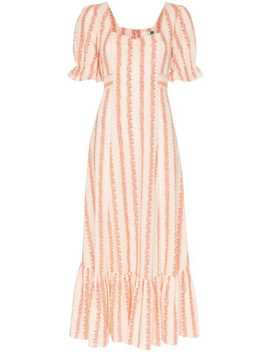 kate-floral-stripe-midi-dress by rixo