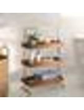 "Mistana Sylacauga 21"" W X 32.5"" H Bathroom Shelf by Wayfair"