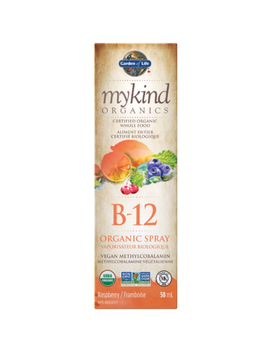 Garden Of Life My Kind Organics Vitamin B 12 Organic Raspberry Spray by Well