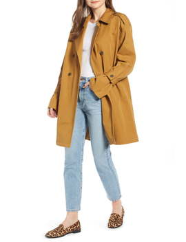 Easy Oversize Trench (Nordstrom Exclusive) by Something Navy