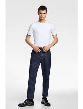 Tricou Simplu Slim Fit Tricouri Articole De BazĂ BĂrbaŢi by Zara