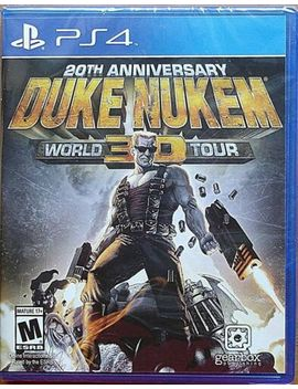 Playstation 4 Ps4 Game Duke Nukem 20 Th Anniversary World Tour New And Sealed by Playstation 4