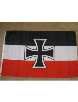 3 X5 Germany Wwi Jack Flag German Iron Cross New F417 by Ebay Seller
