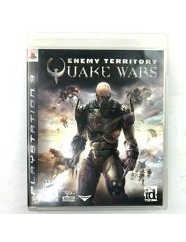 Sony Playstation 3 Ps3 Enemy Territory Quake Wars Game Disc W/Box 2008 Shooter by Ebay Seller