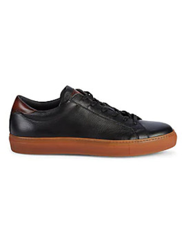 Marino Two Tone Leather Sneakers by To Boot New York