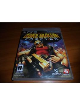 Duke Nukem Forever (Sony Play Station 3, 2011) Used Complete Ps3 by Playstation