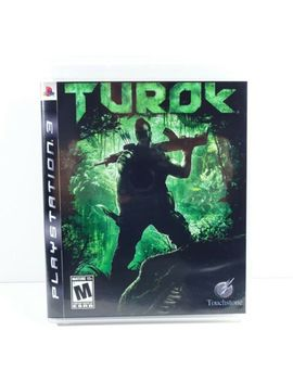 Turok (Sony Play Station 3, Ps3) Excellent Condition   Complete by Ebay Seller
