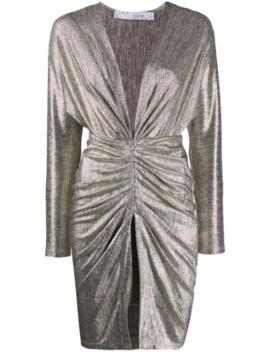 Cilty Metallic Dress by Iro
