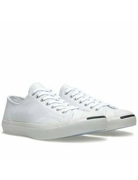 Men's Converse Jack Purcell Jp Leather Ox Low Shoes Sneakers White Sz 9 10 11 12 by Converse